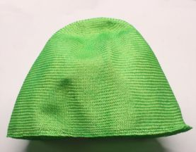 Lime Green Parasisal Straw Hood or Cone Hat Body